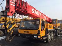 Sany China brand 50 ton truck crane used QY50C mobile crane