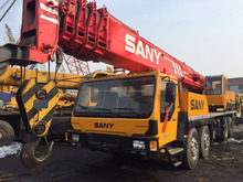 Sany China brand 50 ton truck crane used QY50C mobile crane