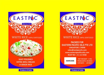 EASTPAC INDIAN WHITE RICE