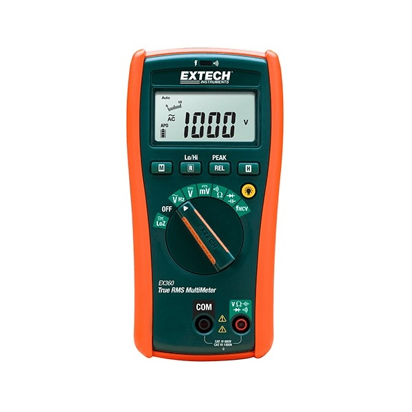 Extech EX360-NIST, 8 Function True RMS Multimeter with NIST Certificate