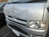 USED DAMAGED CARS FOR SALE IN JAPAN FOR TOYOTA HIACE VAN DX 2006 KR-KDH200V