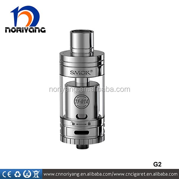 TF-RTA G4 Tank with 0.14ohm Pre-installed Coil smok TF RTA G2 Tank 16mm Big Build Deck 100% Original Smok