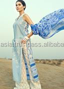 Women Linen EMBROIDERED SUITS