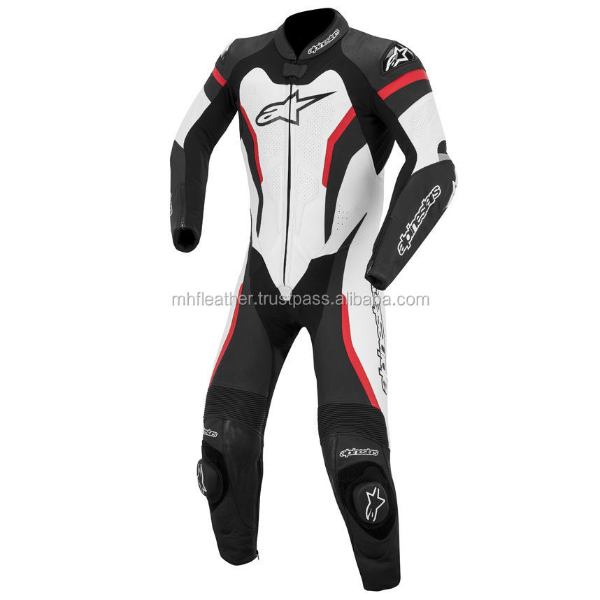 MOTORBIKE/MOTORCYCLE RACING 1 PIECE LEATHER SUIT 611