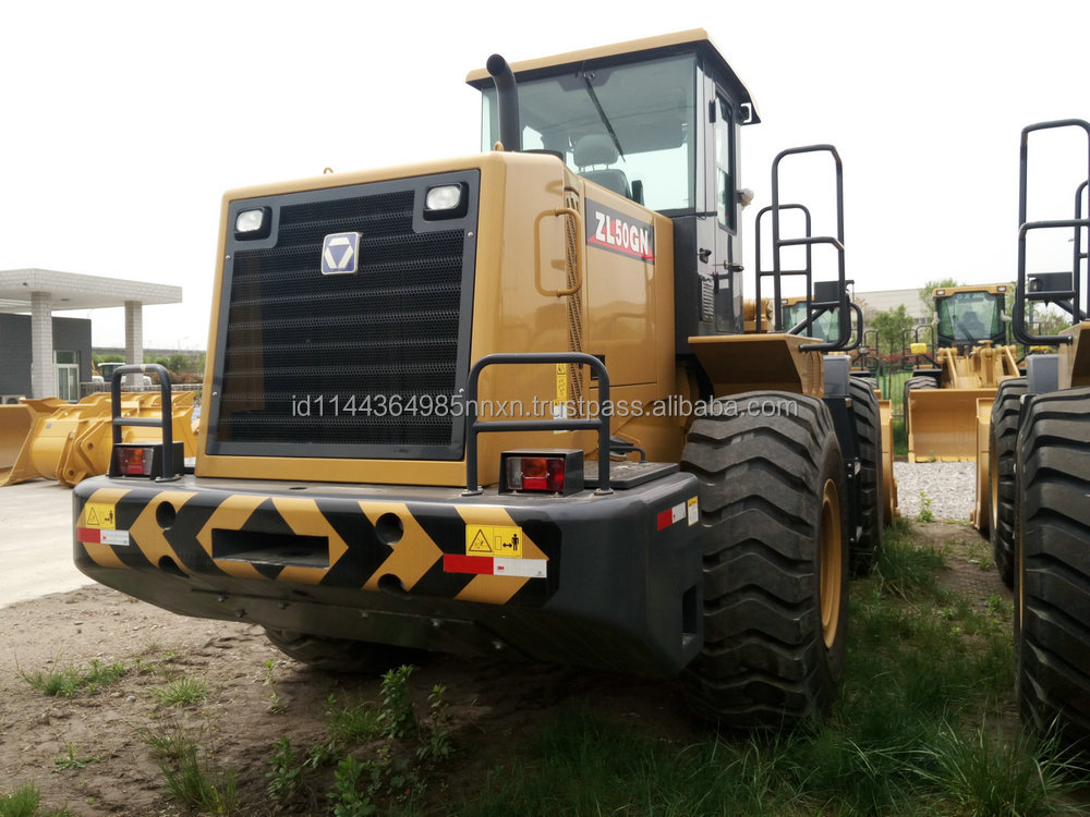 XCMG loader ZL50GN 4wd 40hp tractor with front end loader and backhoe for sale