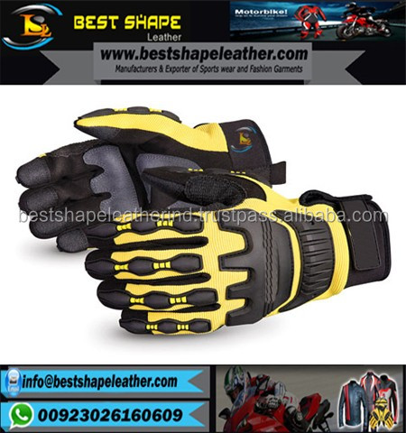 High Grip / Impact Anti Vibration Mechanics Gloves, Top Selling Vibration Gloves