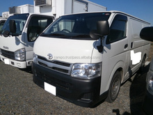 EXPORT FROM JAPAN SECOND HAND RIGHT HAND DRIVE CARS FOR TOYOTA HIACE VAN 2013 WITH REFRIGERATOR & FREEZER