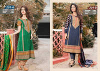 Pakistani Lawn Suit 2016