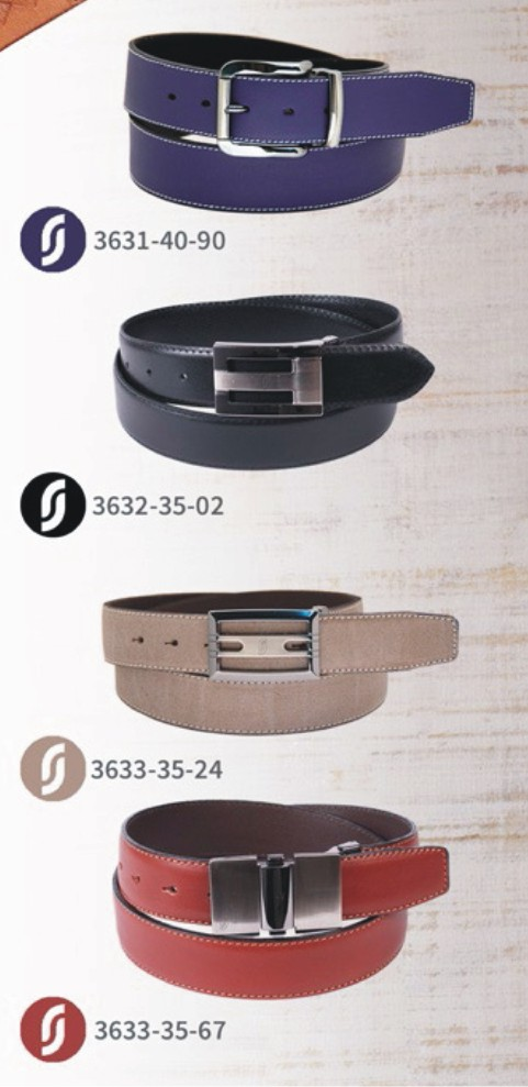 100% leather - belts, handbags and wallet -