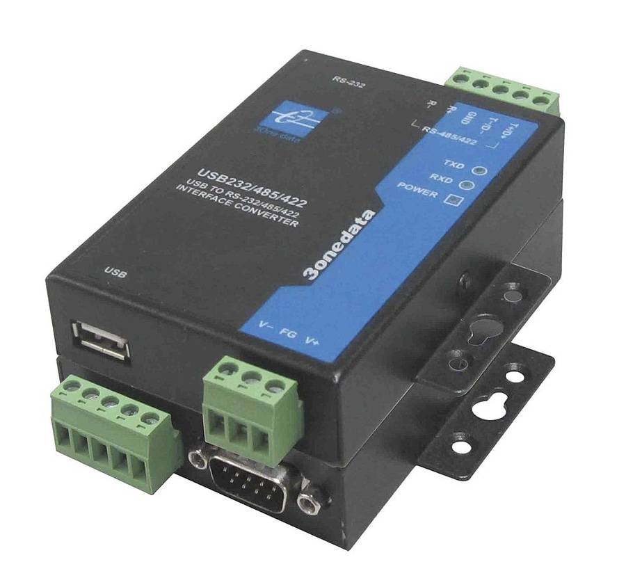 USB to RS232/485/422 isolated converter