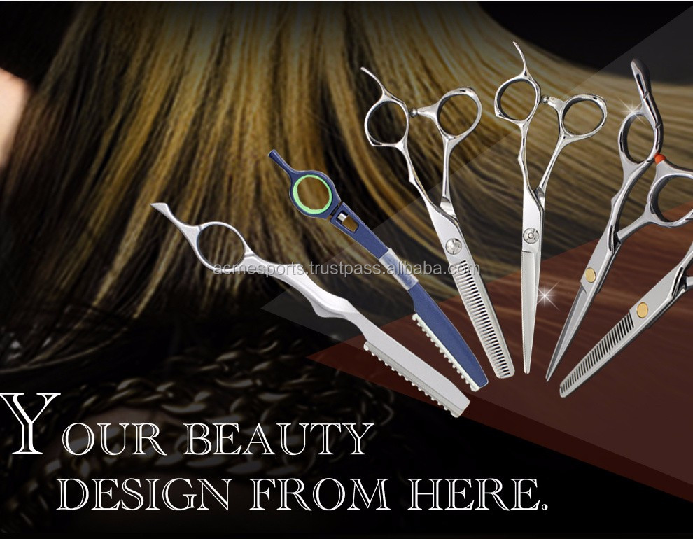 barber scissors - new design borber scissors Professional Japan hairdresser thinning scissors/Barber Shears/ barber Scissors