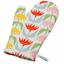 digitally printed design customise mitt oven