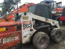 Used bobcat skid steer loader IR CASE863,Secondhand bobcat S130/S150/S250 skid loader
