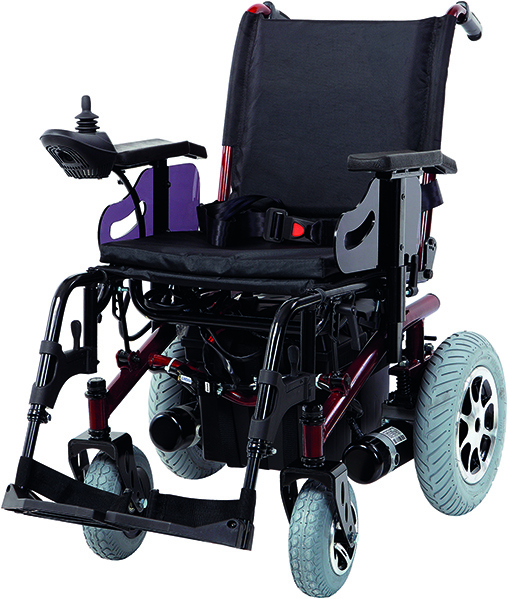 JT-200 Folding Power Wheelchair