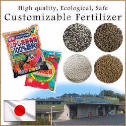 High quality and High grade costomizable fertilizer npk 15 15 15 with nutritious component made in Japan