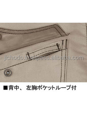 Jumpers with long sleeve men workwear. Made by Japan