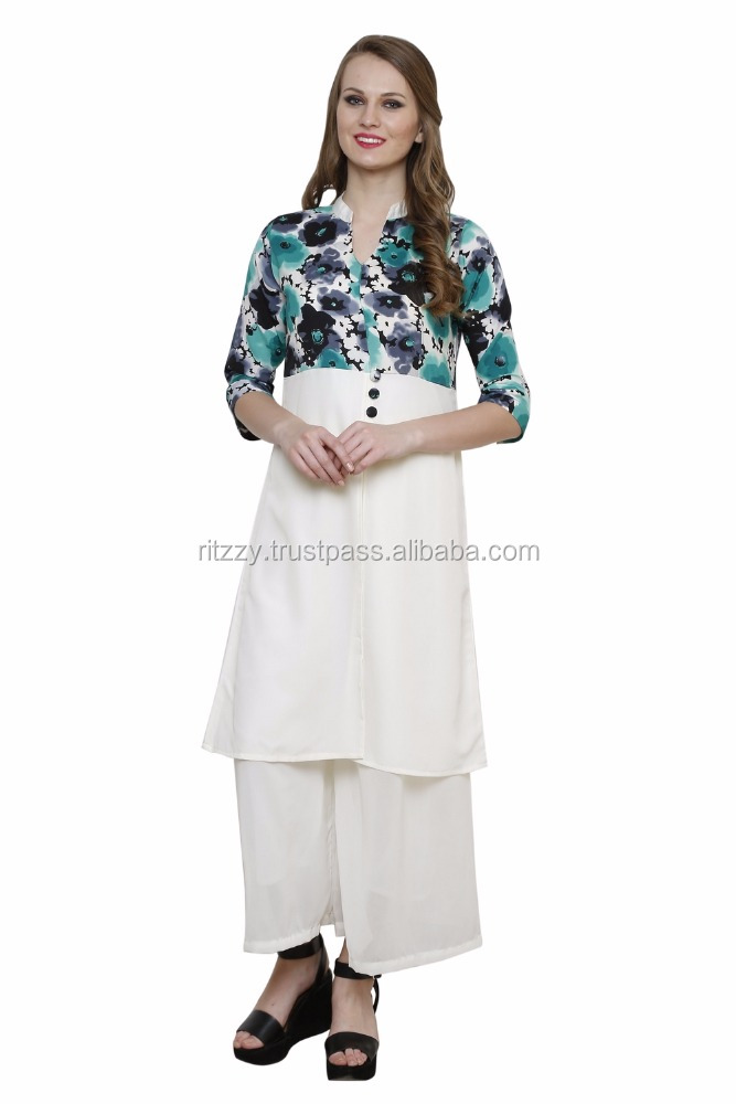 Printed Kurta For Ladies