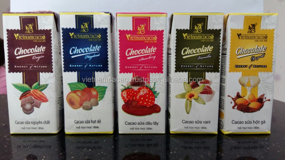 Chocolate milk from Vietnamcacao