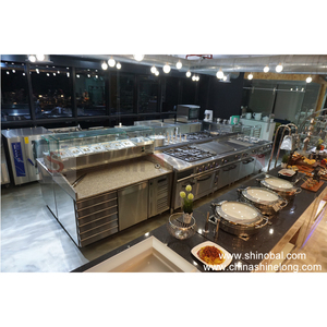 UAE Commercial Industrial Stainless Steel Hotel Restaurant Kitchen Mechanical Equipment For Sale(CE)