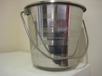 Stainless Steel Water Bucket 555