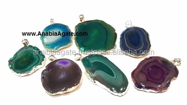 Wholesale Mix Gemstone Netted Chakra Tumble Pendants