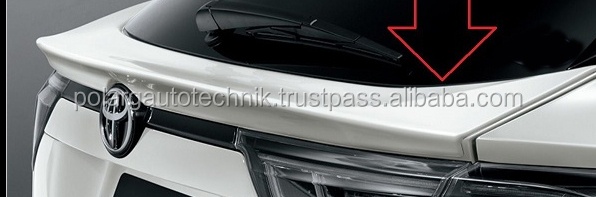 ABS blow mold spoiler to fit for Toyota harrier 2015