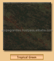 tropical green Granite slabs - Kitchen counter tops