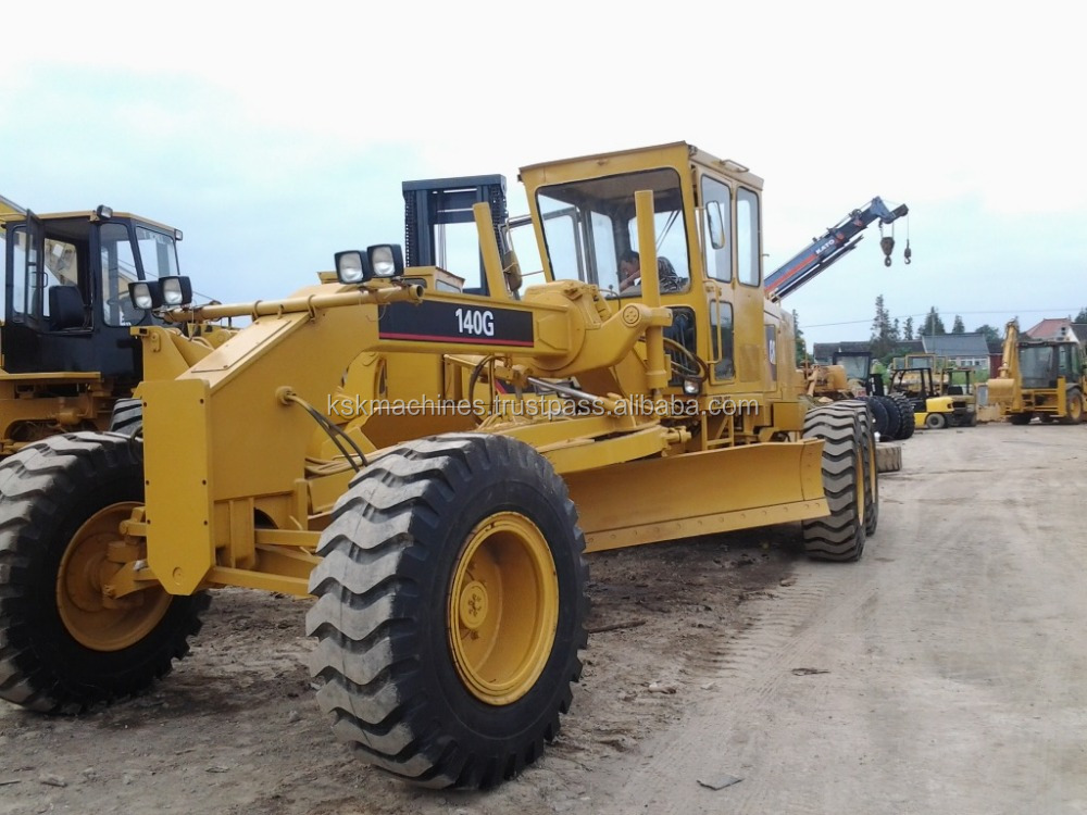 usa grader 140g 140H used motor grader caterpillar japan grader for sale
