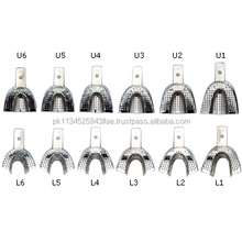 Perforated Impression Tray Perforated Full Denture Set Of 12/ Dental instruments