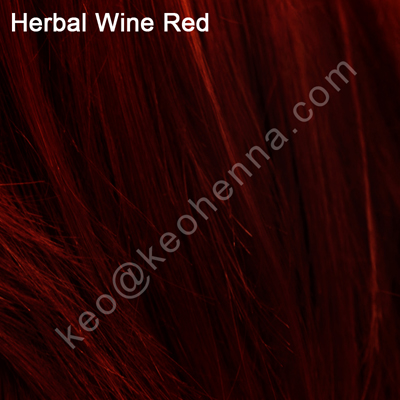 Deep natural red hair dye with PPD