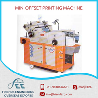 Customized Design Automatic Mini Offset Printing Machine by a Leading Manufacturer