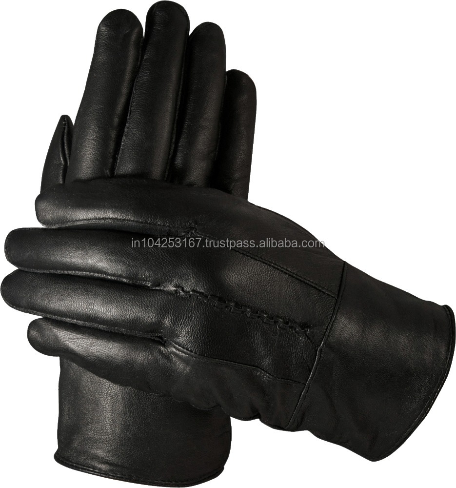 goat leather gloves, winter leather gloves, cow leather gloves in 100% genuine leather