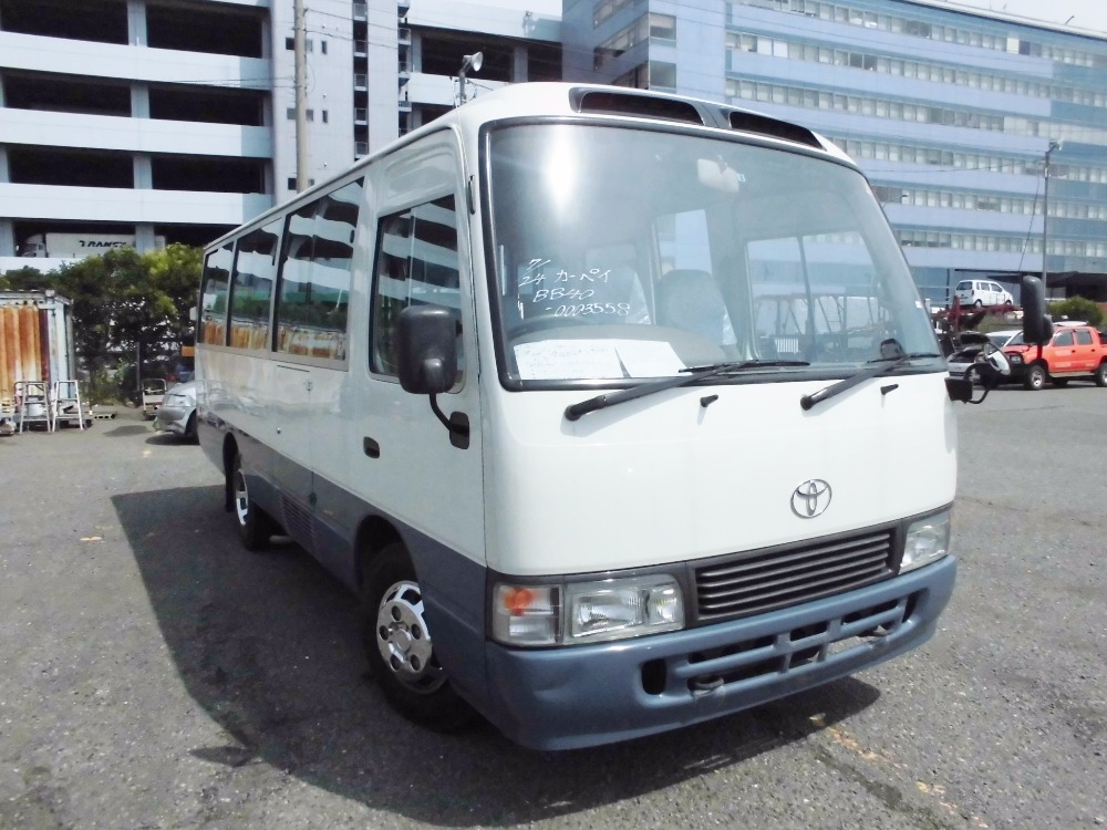 Good condition and Durable used toyota coaster bus with multipul functions made in Japan