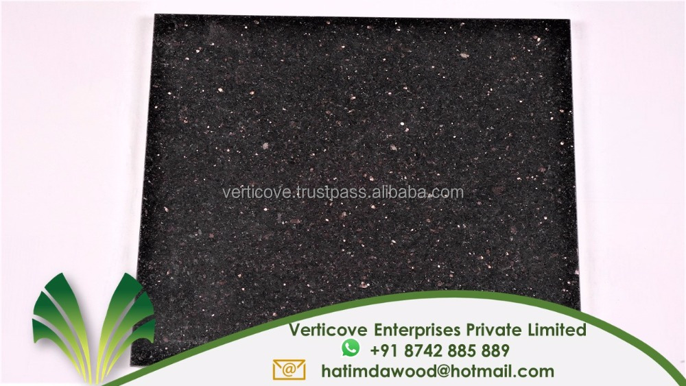 Top Quality Black galaxy granite prices india