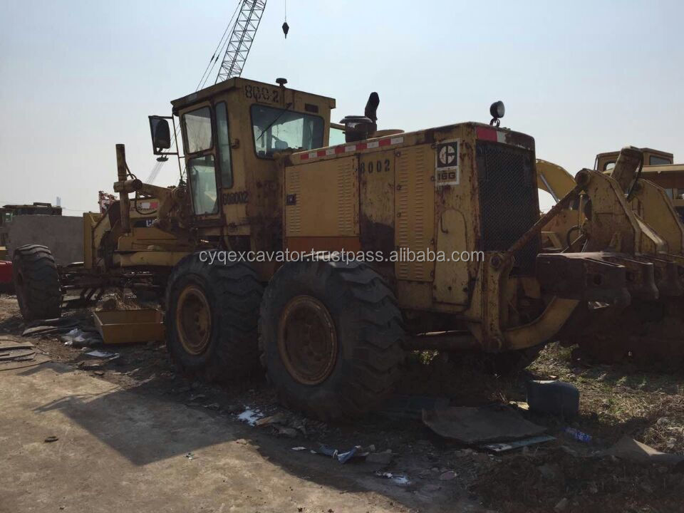 Used grader CAT 16G, Original motor grader, used heavy machinery for sale