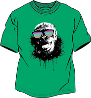 Green T-shirt and An Ape with Sunglasses