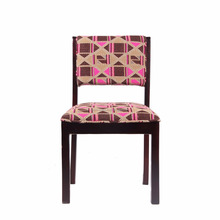 Vintage Fine Wood Restaurant Furniture With Traditional hand loom Embroidery Dining Chair
