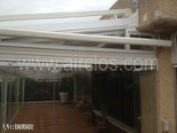 Conservatory glass and aluminium