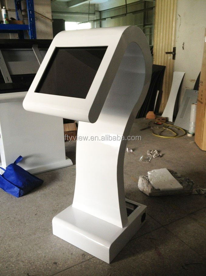 22 inch LCD touch screen advertising player touch kiosk player with Windows OS