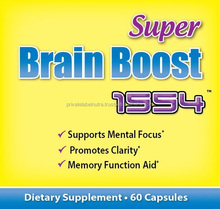 Made in USA Private Label Health Food Nutritional Supplement BRAIN BOOST