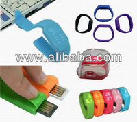 USB1431 Fashion Silicone Watch cum USB Drive