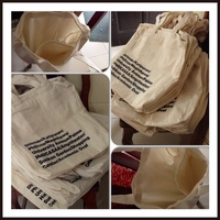 high quality customized canvas bag