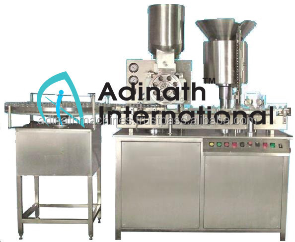 Sterile Vial Powder Filling and Stoppering Equipment/Machine