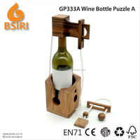 Wine Bottle lock A puzzle gifts