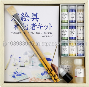 Japanese artists' paint Nakagawa-Gofun pigment HIROSHIGE paintings