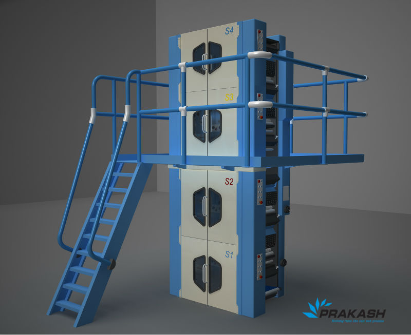 PRAKASH WEB OFFSET- 4 HIGH TOWER FOR NEWSPAPER AND TEXTBOOK