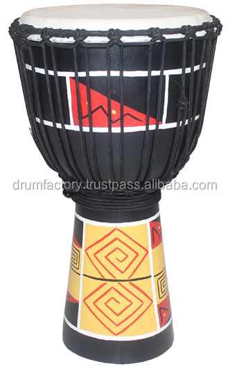 Entry Level Series Djembe DJZP-P1. wooden hand drum, percussion, music instrument