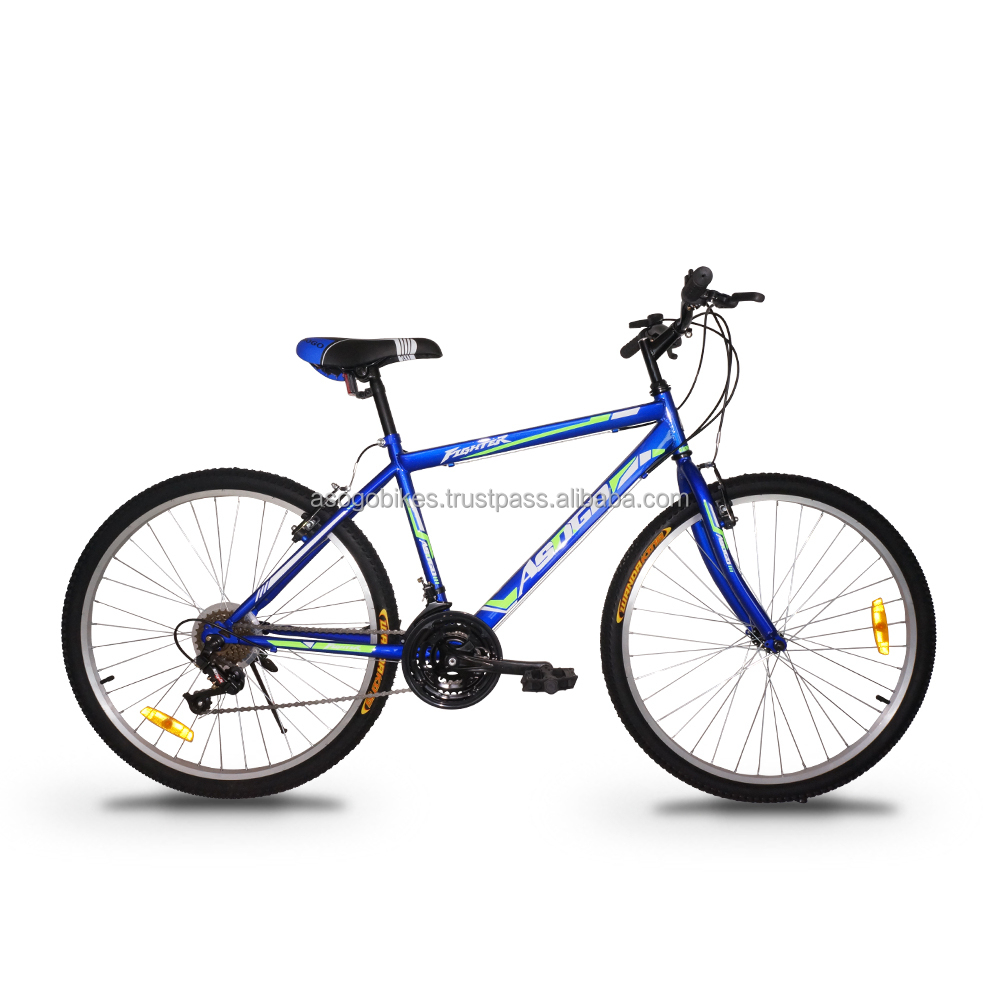 "ASOGO 26"" MTB Bike Mountain Bicycle 18 Speed Blue"
