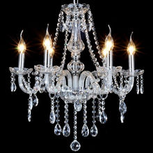 classic glass lighting crystal E27 candle chandeliers