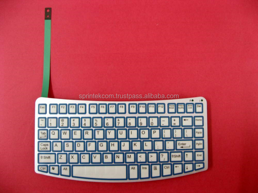 Custom Membrane Switch Keyboard